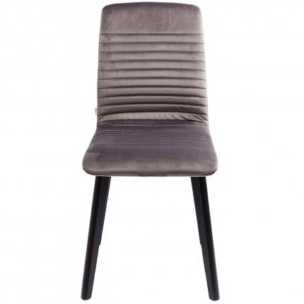 Chaise Lara velours gris Kare Design