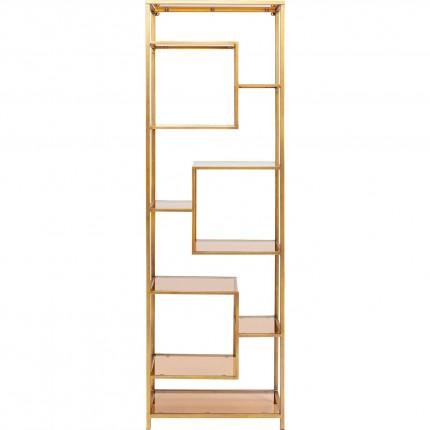 Étagère Loft 195x60cm dorée Kare Design