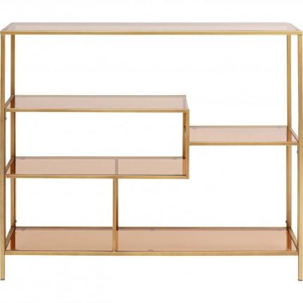 Étagère Loft 100x115 dorée Kare Design