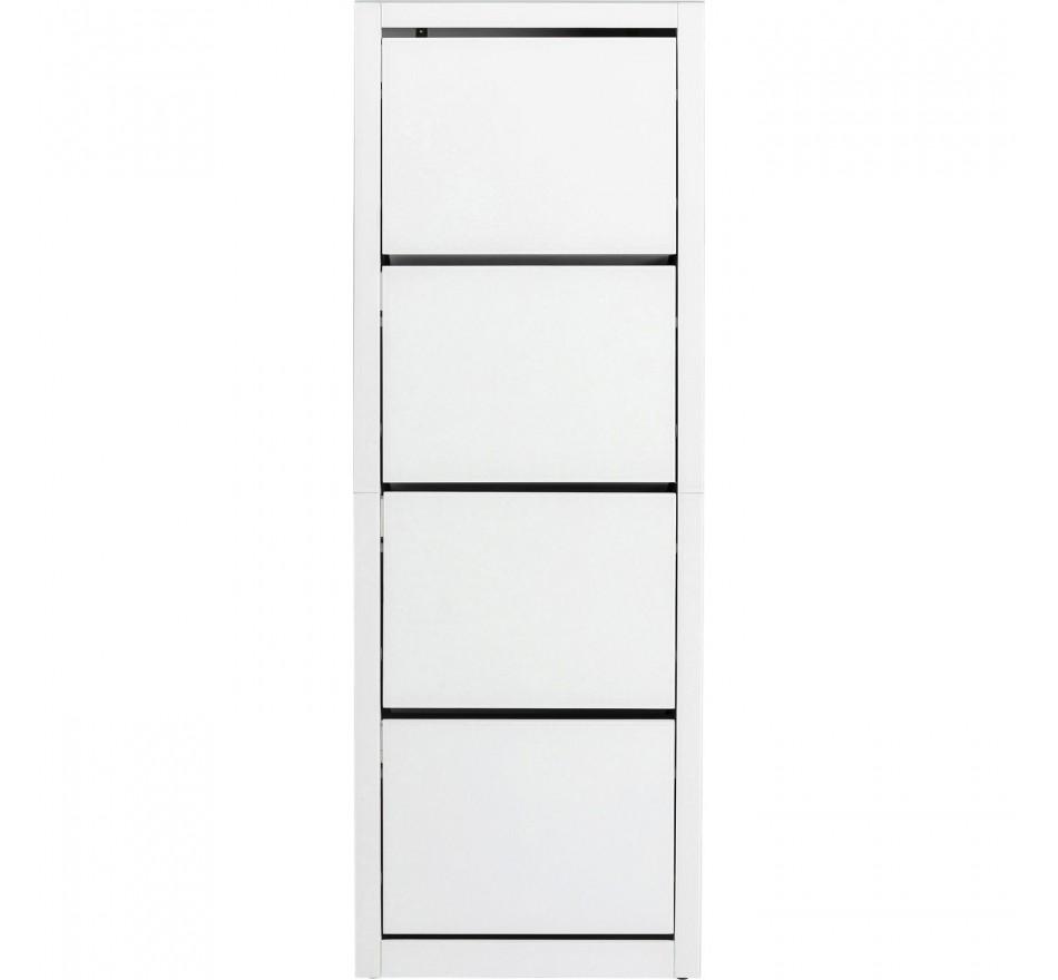Casier à chaussures Luxury blanc 4 tiroirs Kare Design