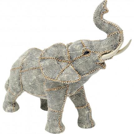 Déco Éléphant perles 29cm Kare Design