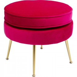 Tabouret Water Lily fuchsia Kare Design