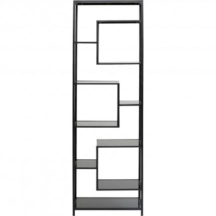 Étagère Loft 195x60cm noire Kare Design