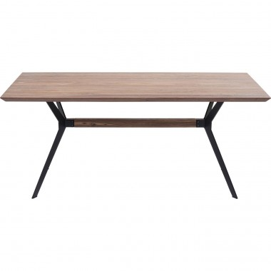 Table Downtown noyer 220x100cm Kare Design