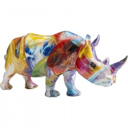 Déco Rhino halo de couleurs Kare Design