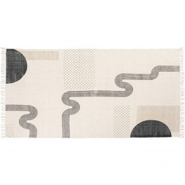 Tapis Labyrinth 240x150cm Kare Design