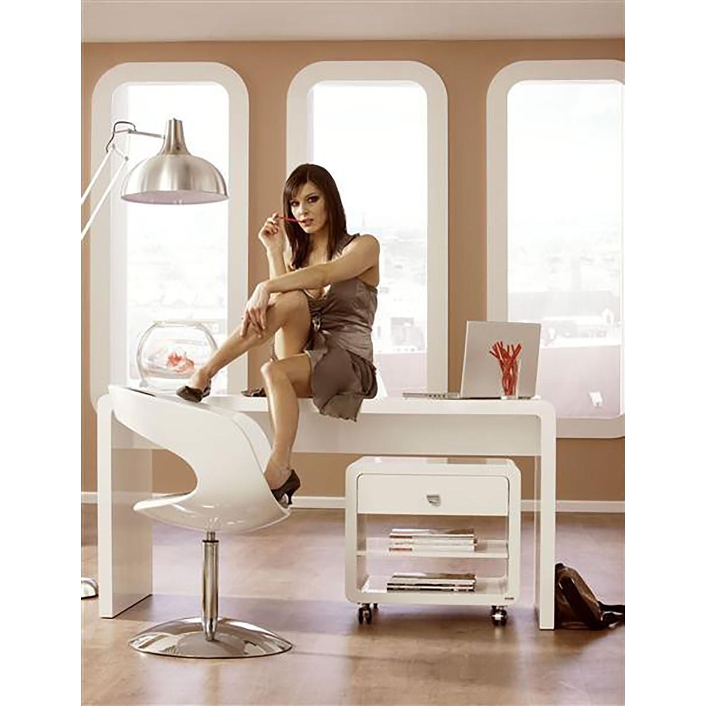 Bureau blanc White Club 180x85cm Kare Design