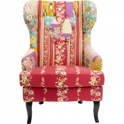 Fauteuil Wing Patchwork Kare Design