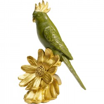 Déco perroquet fleurs Kare Design
