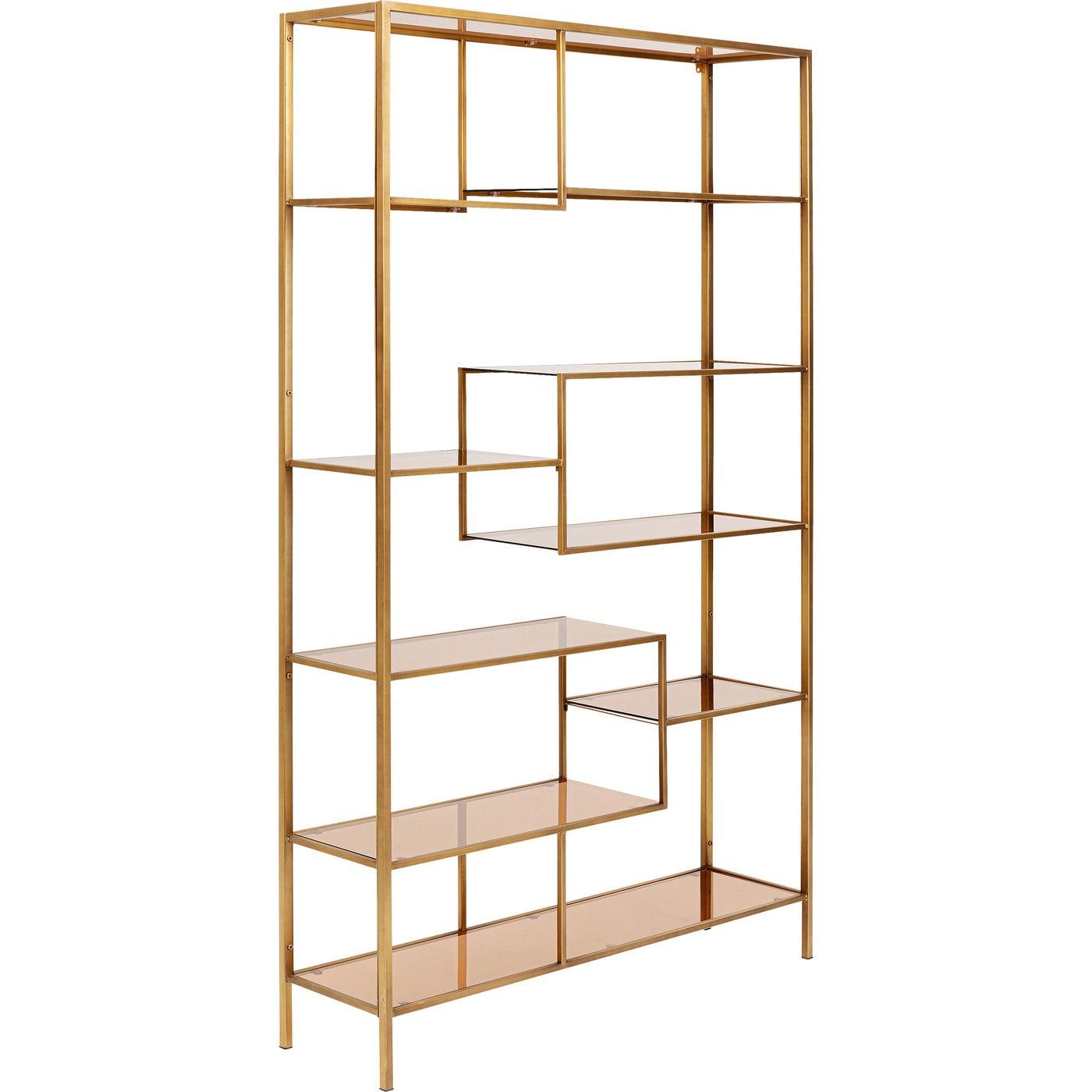 Étagère Loft 195x115cm dorée Kare Design