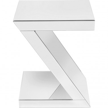 Table d'appoint Luxury Z 45x33cm blanche Kare Design