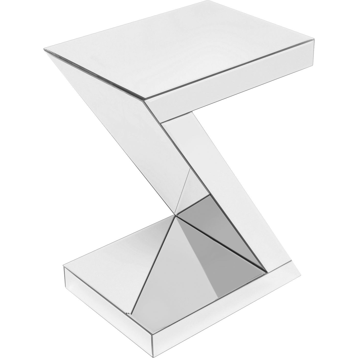 Table d'appoint Luxury Z blanche Kare Design