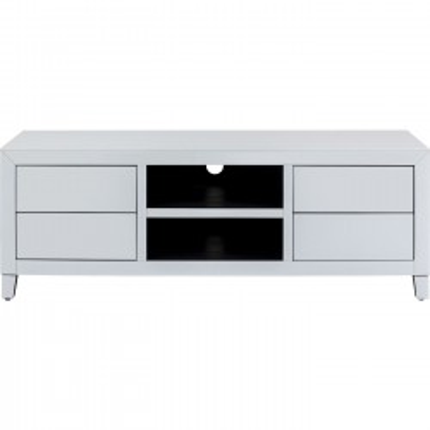 Meuble TV Luxury Push blanc Kare Design