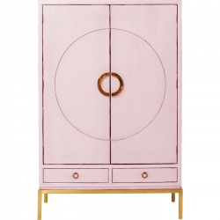 Armoire Disk rose Kare Design