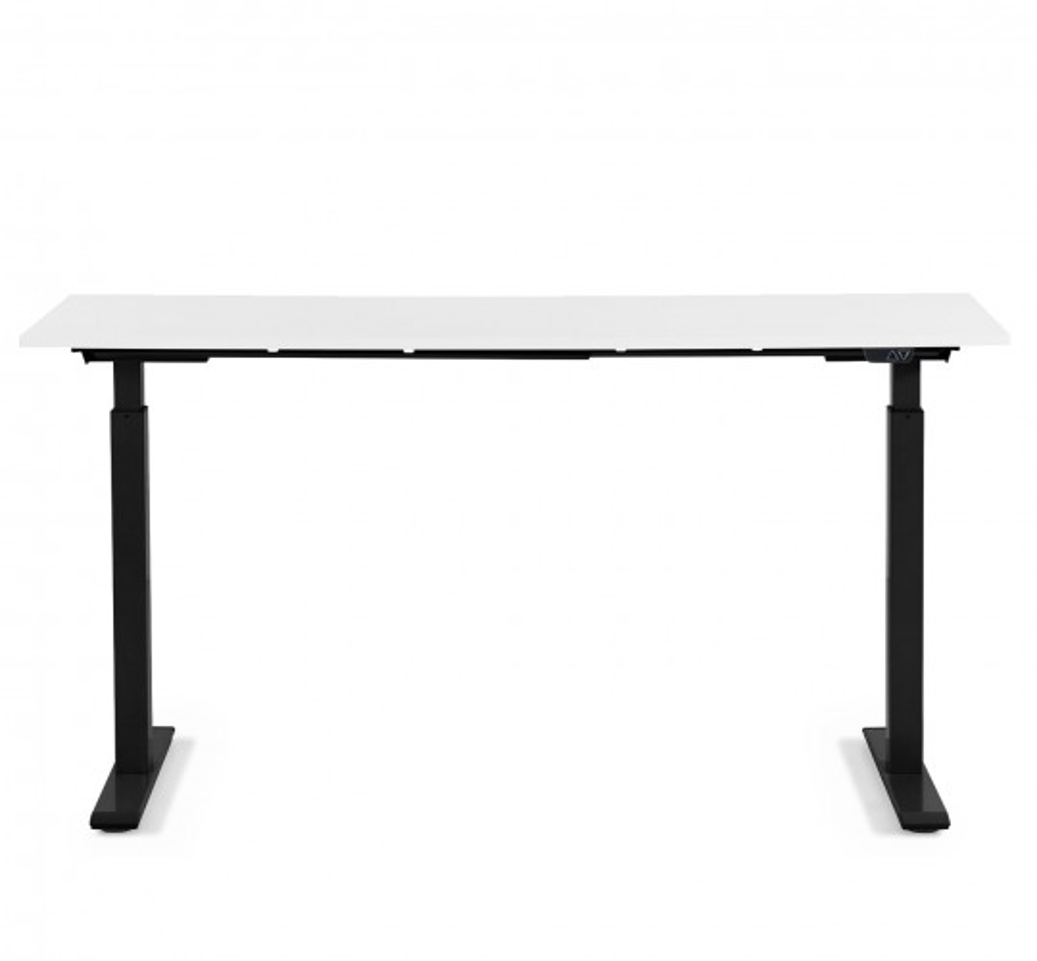 Bureau Office noir et blanc 120x70cm Kare Design