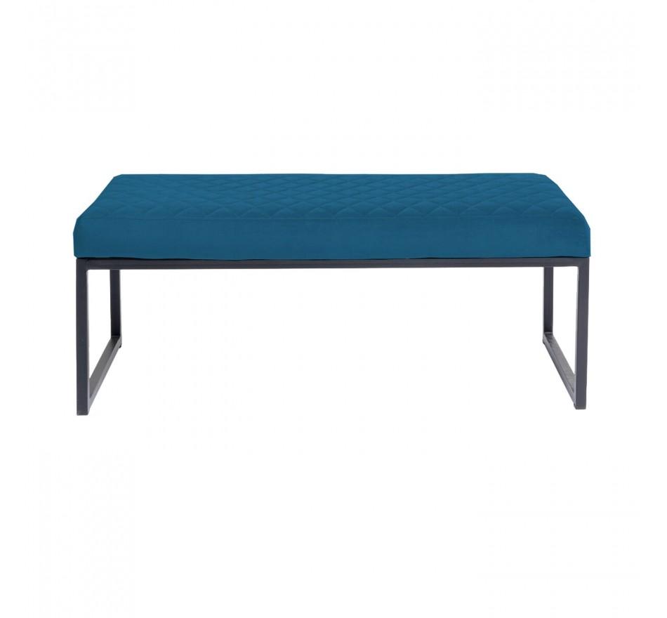 Banc Smart noir et bleu 90x40cm Kare Design