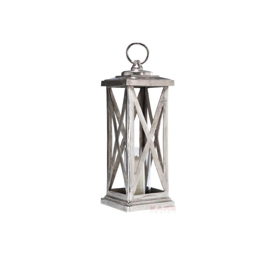 Lanterne Rocky Alu Kare Design