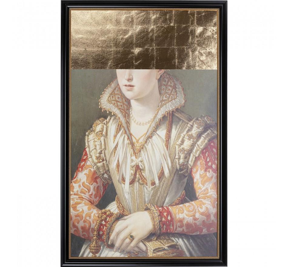 Peinture à l'huile Frame baronne incognito 100x160cm Kare Design