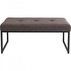 Banc Smart Dolce marron 90x40cm Kare Design