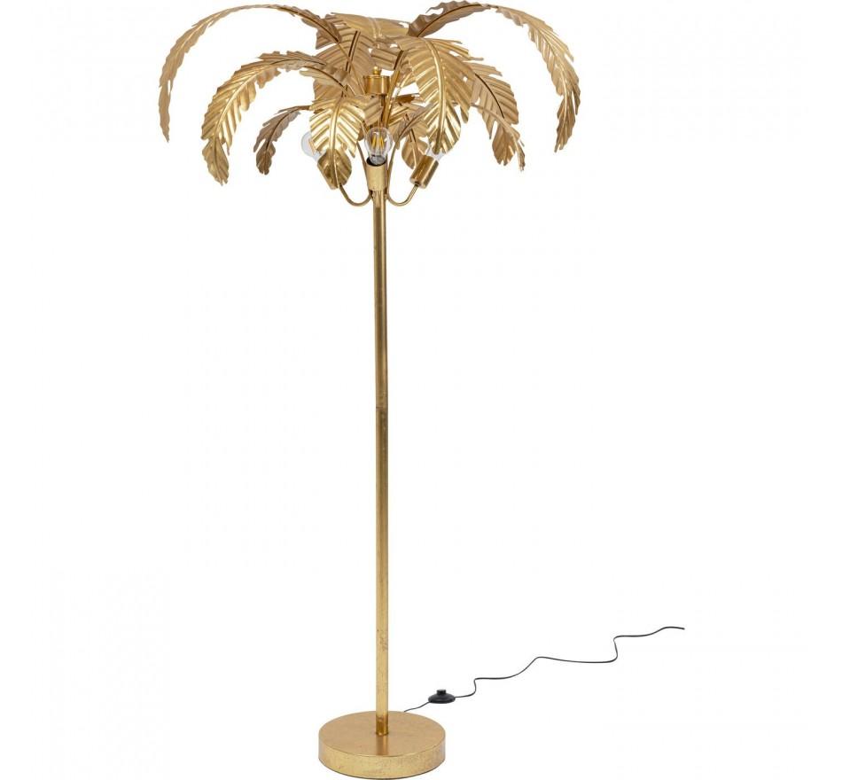 Lampadaire feuilles de palmier 170cm Kare Design
