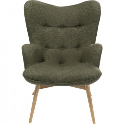 Fauteuil Vicky Dolce vert Kare Design