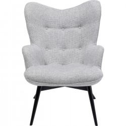 Fauteuil Vicky Dolce gris Kare Design