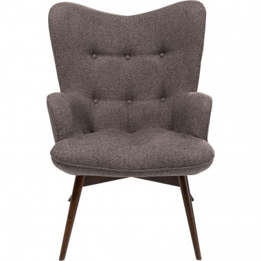 Fauteuil Vicky Dolce marron Kare Design