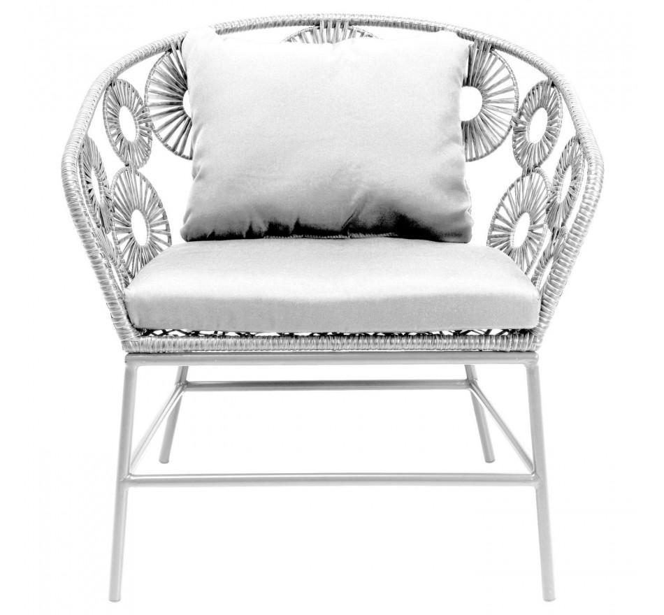 Fauteuil Ibiza blanc Kare Design