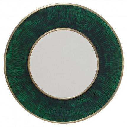 Miroir rond Lens 60cm vert Kare Design