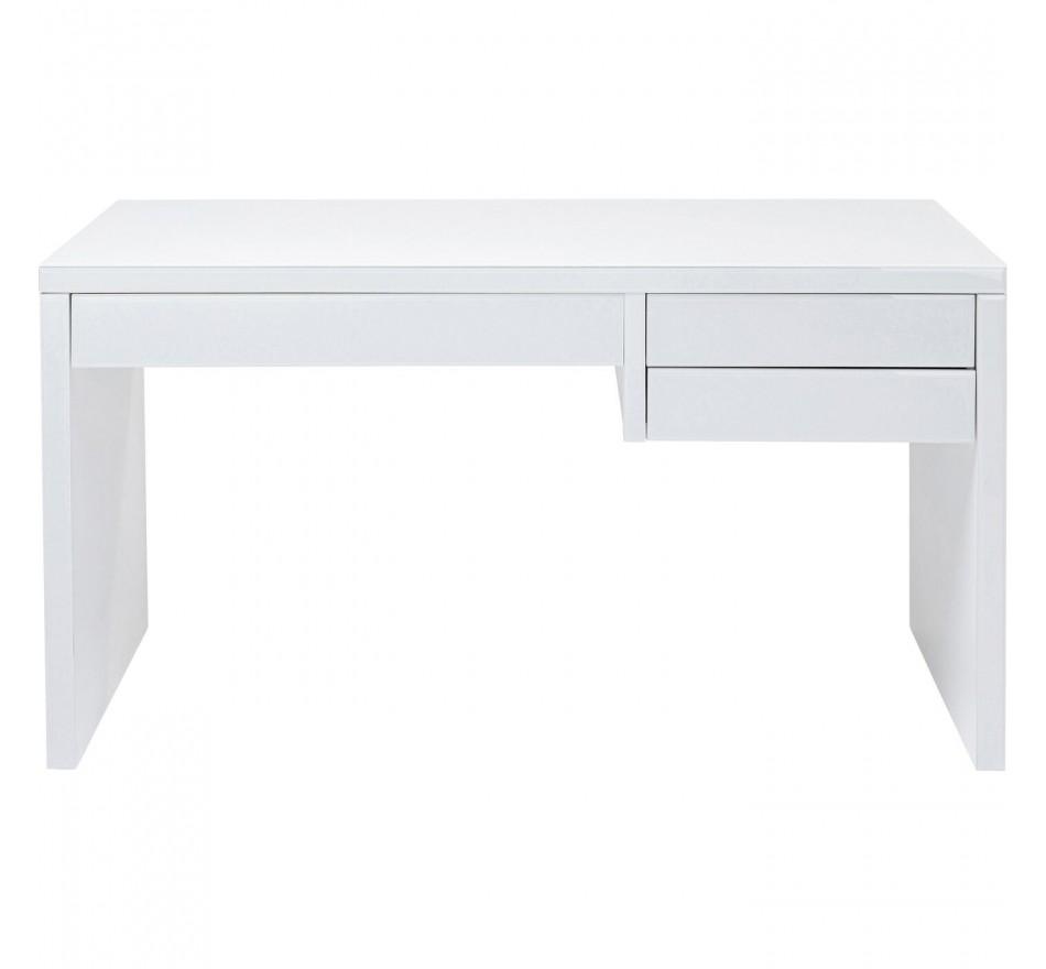 Bureau Luxury Push blanc 140x60cm Kare Design