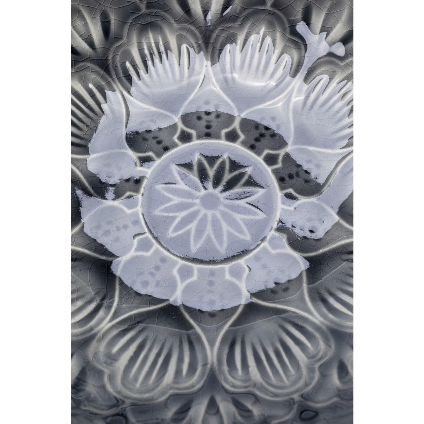 Bols Sicilia Mandala gris 18cm set de 4 Kare Design