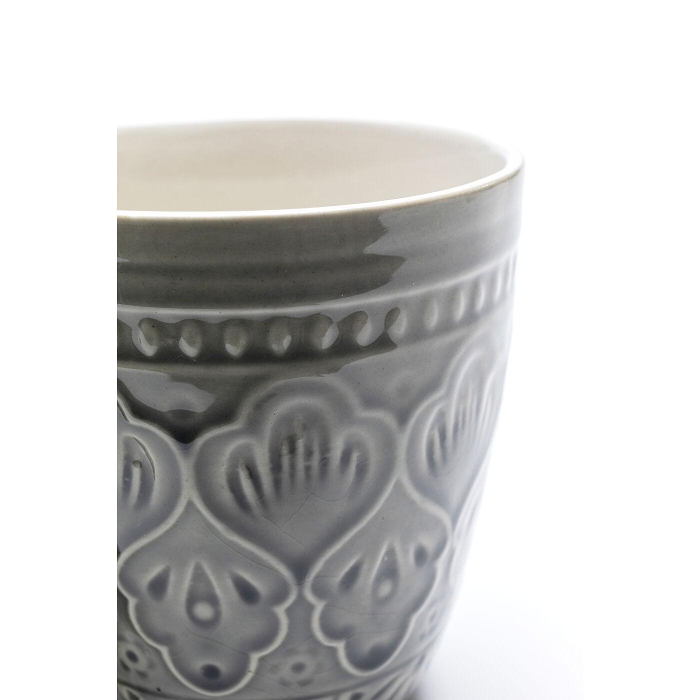 Mugs Sicilia Mandala gris set de 4 Kare Design