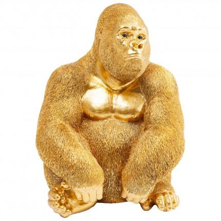 Déco Gorille 39cm doré Kare Design