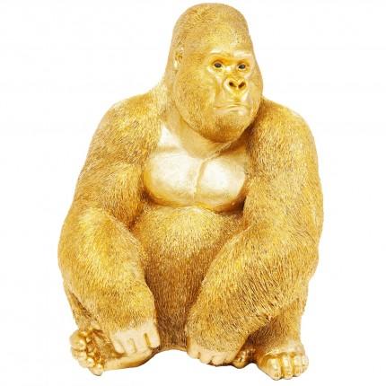 Déco Gorille XL 76cm doré Kare Design