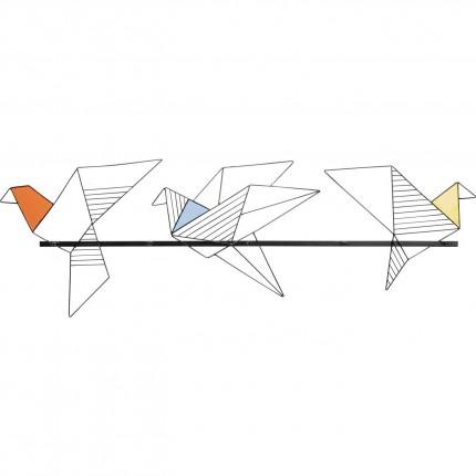 Portemanteau mural Origami Bird 114cm Kare Design