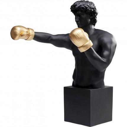 Déco boxeur noir Kare Design