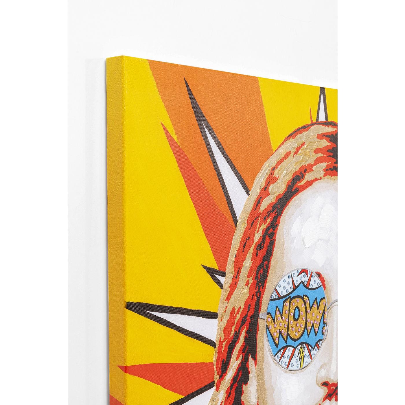 Tableau Jesus Pop Art 90x120cm Kare Design