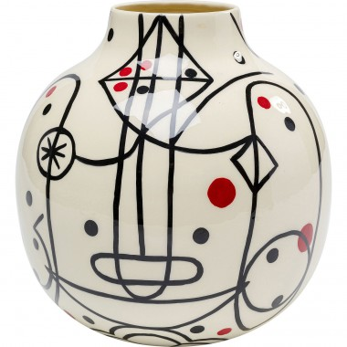 Vase Abstract Counterpart 21,5cm Kare Design