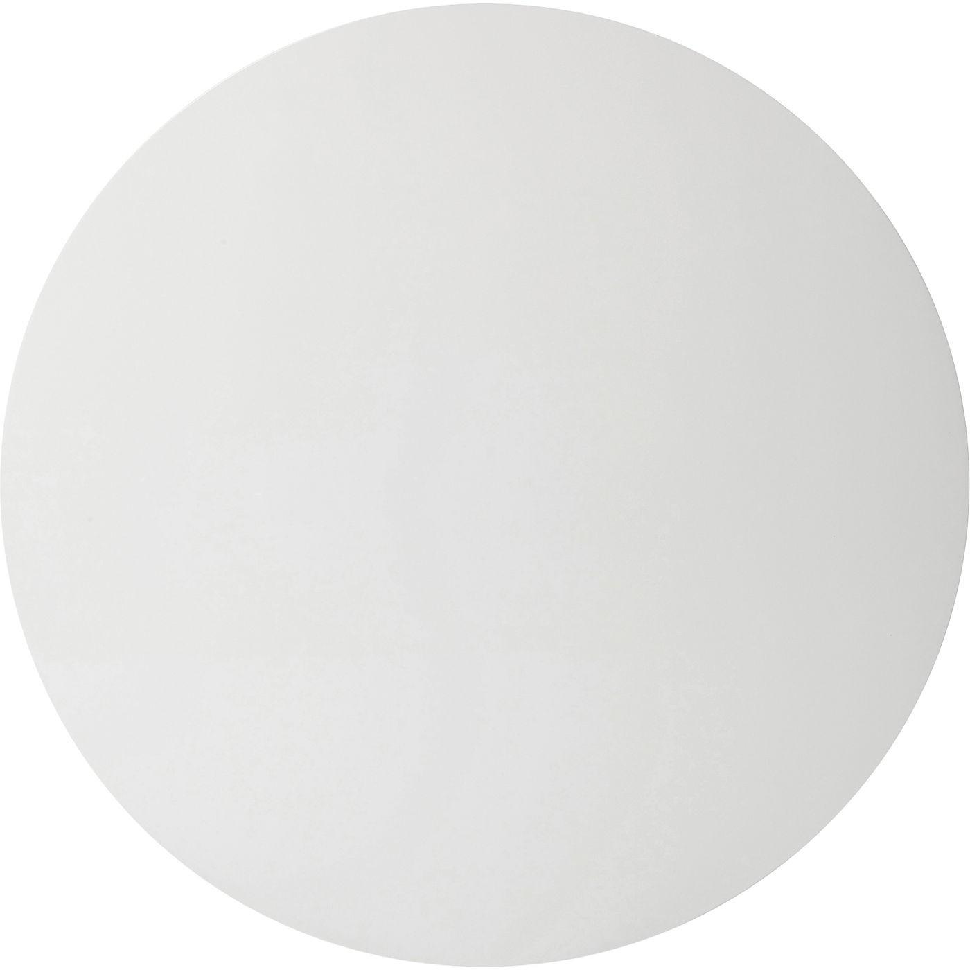 Table Invitation blanche & dorée Kare Design Diamètre - 120cm