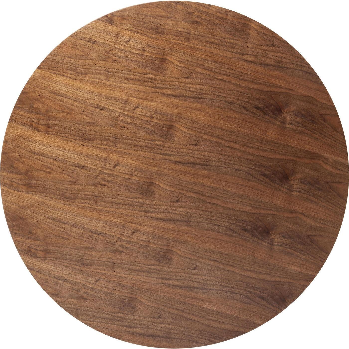 Table Invitation noyer & noire Kare Design Diamètre - 90cm