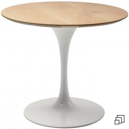 Table Invitation chêne & blanche Kare Design