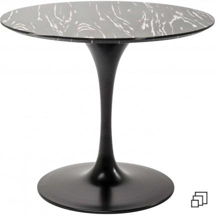 Table Invitation ébène & noire Kare Design