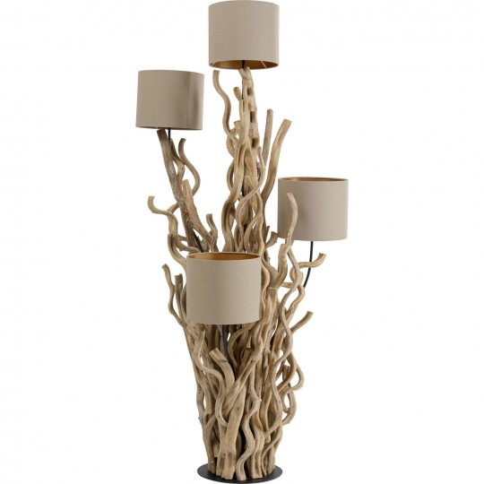 Lampadaire Twisted Forest nature 154cm Kare Design