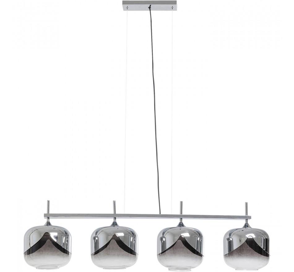 Suspension Goblet Quattro chromée 25cm Kare Design