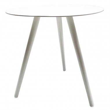 Table d'appoint Sorrento 48cm blanche Gescova