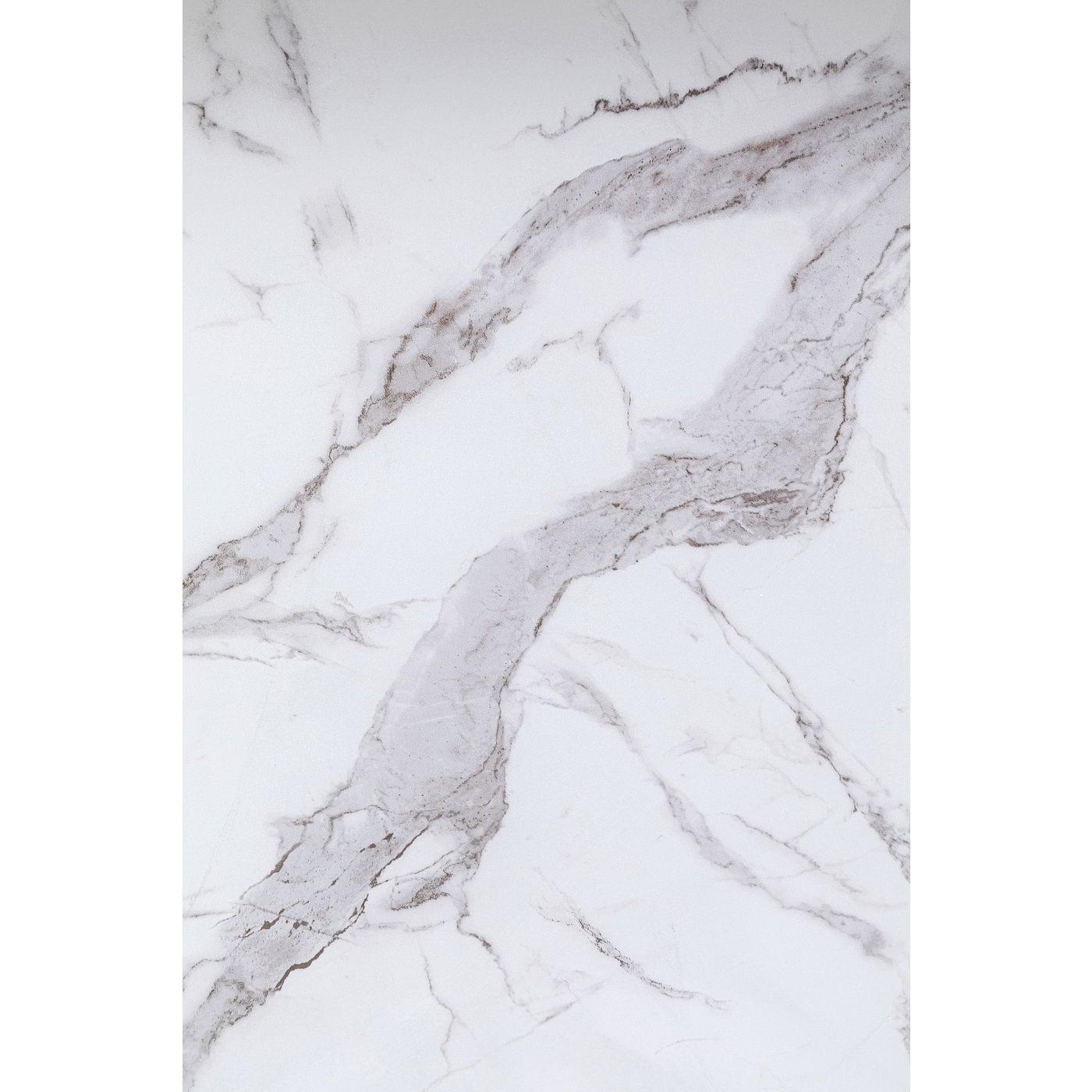 Bar Ladylike effet marbre blanc Kare Design