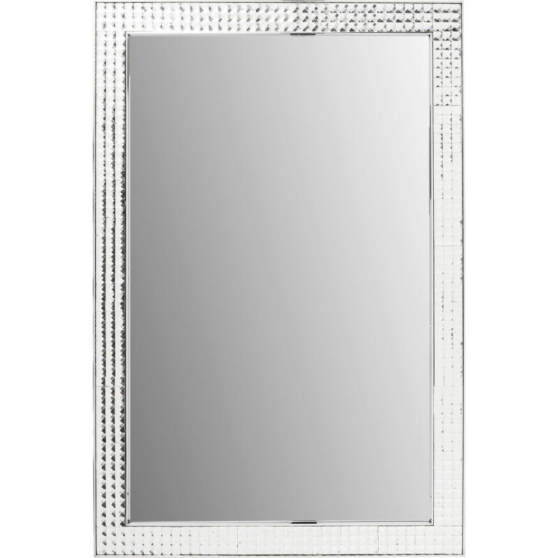 Miroir Crystals chrome 120x80cm Kare Design