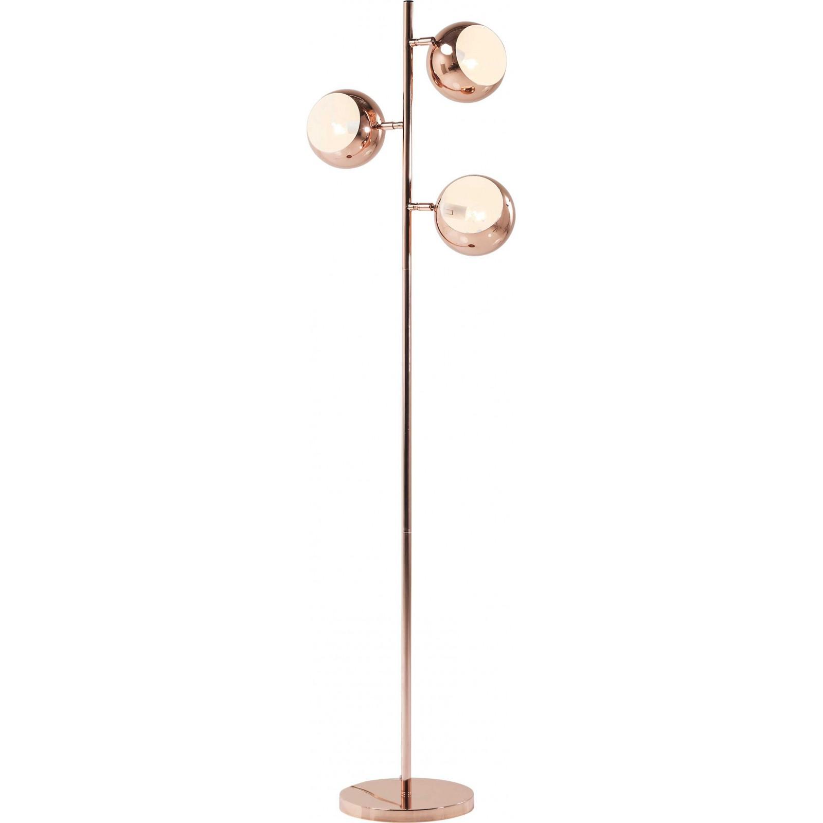 Lampadaire cuivrée, Calotta, Kare Design