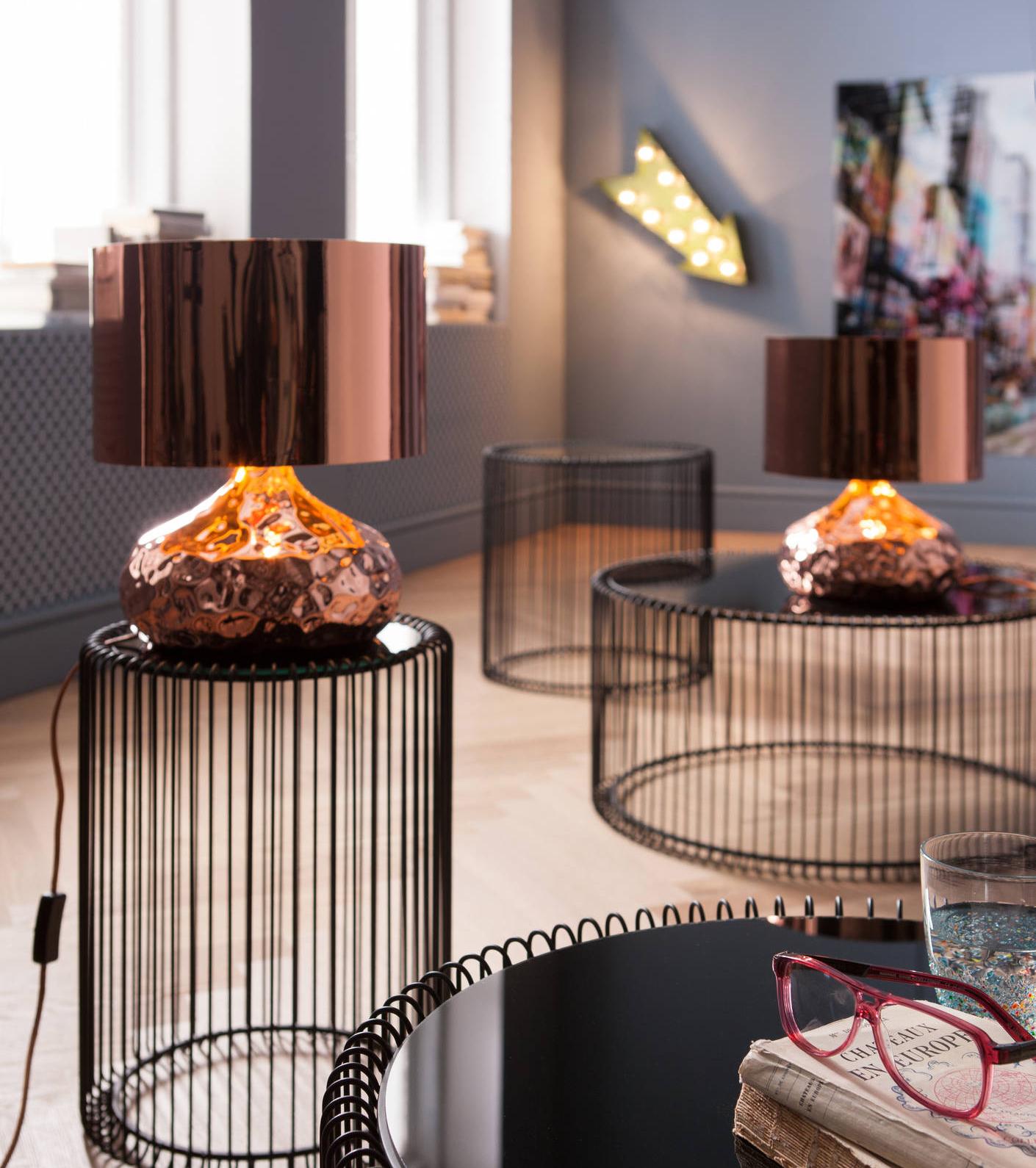 Lampe Cuivre Design Le Luminaire Touchepasamoncorps