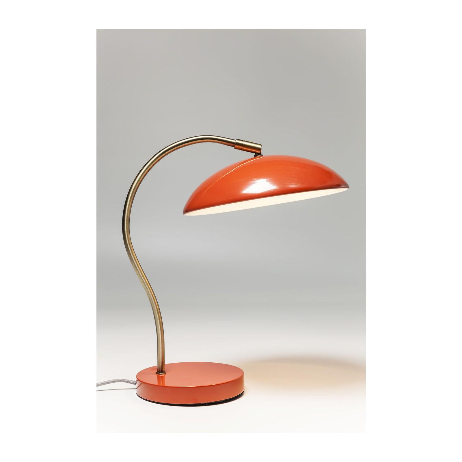 LAMPE DE TABLE UFO ORANGE KARE DESIGN